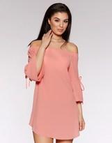 Quiz Bardot Tunic Dress
