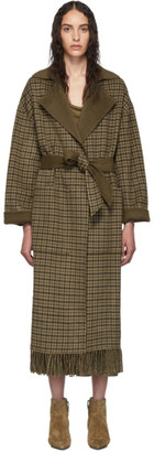 Nanushka Brown Wool Alamo Coat