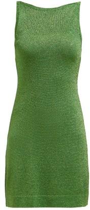 Missoni Sleeveless Lame Mini Dress - Womens - Green