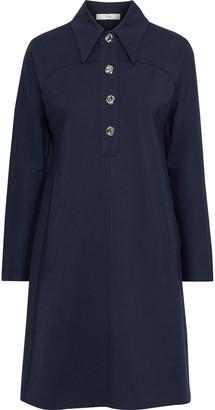 Tibi Bond Stretch-knit Shirt Dress
