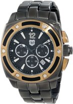 Andrew Marc Men's A21603TP G III Bomber 3 Hand Chronograph Watch