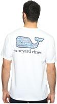 Vineyard Vines Short Sleeve Bonefish in Coral Whale Pocket Shirt Men's T Shirt