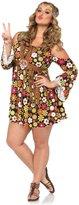 Leg Avenue Women's Plus-Size Starflower Hippie Costume