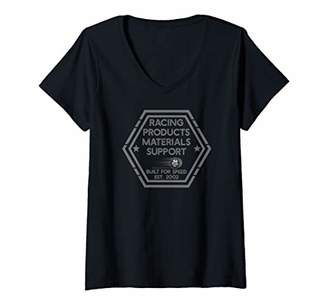 Womens Racing products Est. 2002 Racing lover Fantasy gift V-Neck T-Shirt