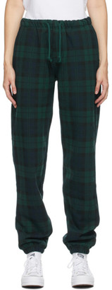 Noon Goons Green Tartan Plaid Icon Lounge Pants