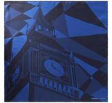 Turnbull & Asser London Geometric Silk Pocket Square