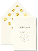 Kate Spade Bridal Note Card Set - Bridesmaid