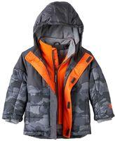 ZeroXposur Toddler Boy Heavyweight Fleece-Lined Camouflage Jacket