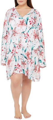 La Blanca Flyaway Orchid Cover-Up Tunic