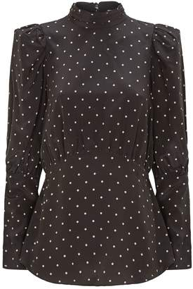 Thurley Polka-Dot Lana Blouse