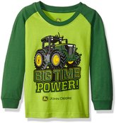 John Deere Little Boys' Toddler Big Time Power Tee