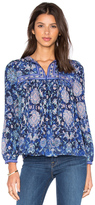 Rebecca Taylor Long Sleeve Dreamweaver Top