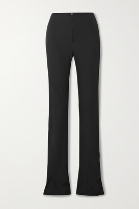 Thierry Mugler Tech-scuba Skinny Pants - Black
