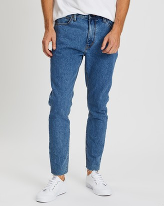 Abrand A Dropped Slim Turn Up Jeans