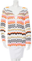 M Missoni Patterned knit Top