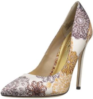 Nicole Miller Womens Brescia-NM Heeled Sandal