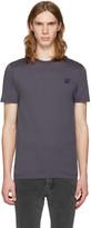 McQ by Alexander McQueen Grey Swallow Patch T-Shirt