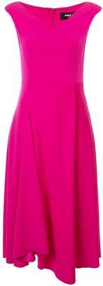 Paule Ka V-neck flared dress