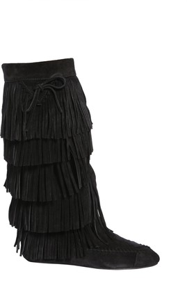 Saint Laurent Fringed Boots