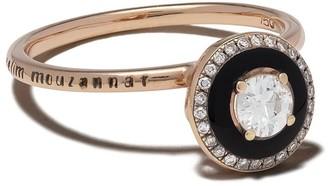 Selim Mouzannar 18kt rose gold Mina diamond ring