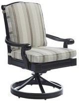 Tommy Bahama Kingstown Sedona Swivel Patio Dining Chair with Cushion Outdoor