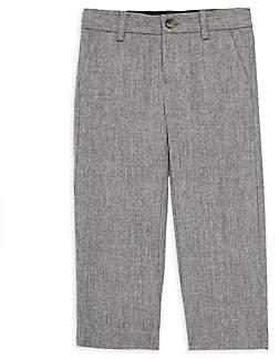 Janie and Jack Little Boy & Boy's Wool Herringbone Pants