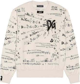 Dolce & Gabbana Sweatshirt in Carpe Diem Grey | FWRD