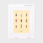 Paul Smith Iconic Fashion Designers Part Two Print By Le Duo For Image Republic