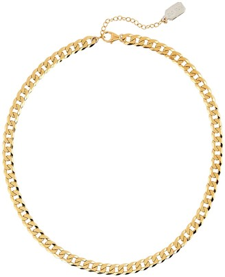 ela rae Curb Chain Vermeil Necklace