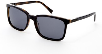 Ted Baker 56mm Acetate Square Polarized Sunglasses