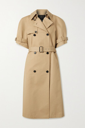 we11done Cotton-gabardine Trench Coat