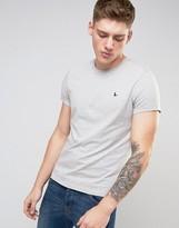 Jack Wills Sandleford Logo T-Shirt in Gray Marl