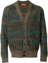 Missoni chevron pattern cardigan