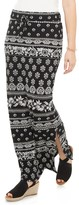 Sonoma Goods For Life Women's SONOMA Goods for Life Side Slit Maxi Skirt