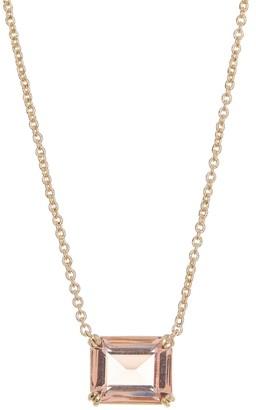 Lauren Ralph Lauren Emerald Cut Stone Necklace & Stud Earrings Gift Set