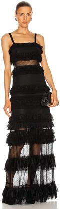 Alexis Amaryllis Dress in Black | FWRD
