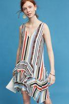 Eva Franco Milana Striped Dress, White