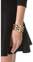 Noir Triple Pyramid Stud Bracelet