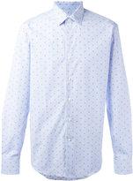 Salvatore Ferragamo polka-dot shirt - men - Cotton - XL