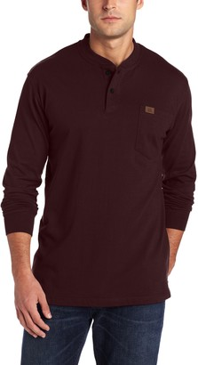 Riggs Workwear Mens Long Sleeve Henley