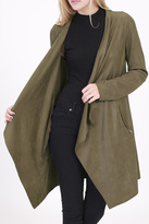 Rose & Eye Olive Car Jacket