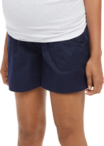 Motherhood Secret Fit Belly Cargo Pockets Maternity Shorts