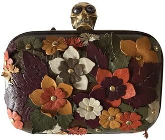 Alexander McQueen Skull Multicolour Leather Clutch bags