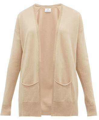 Allude Longline Cashmere Cardigan - Womens - Beige