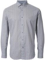 Kent & Curwen floral print poplin shirt