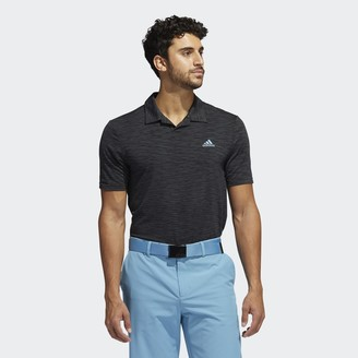 adidas Mesh Broken-Stripe Polo Shirt