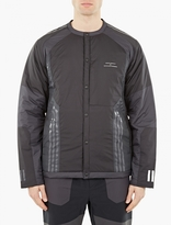 Adidas X White Mountaineering Black Padded Cardigan