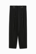 Anthony Vaccarello Lace Oversized Trousers