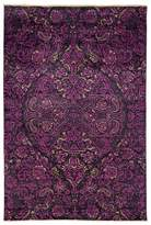 Solo Rugs Suzani Collection Oriental Rug, 6' x 8'10""