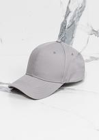 Missy Empire Pia Light Grey Velcro SnapBack